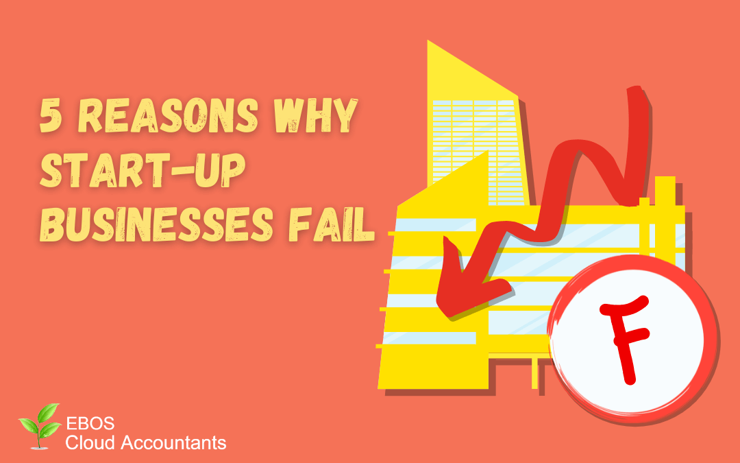5 Reasons Why Start-up Businesses Fail