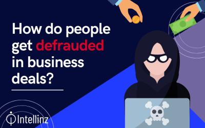How do people get defrauded in business deals?
